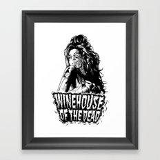 Winehouse of the dead Framed Art Print