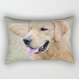 Spring Golden Rectangular Pillow