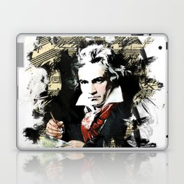 Ludwig van Beethoven Laptop & iPad Skin