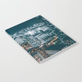 Toronto by night - City at night Notebook