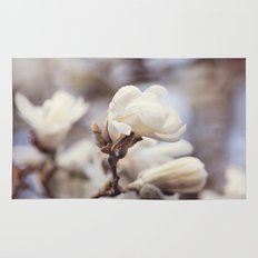 Magnolia Flower Rug