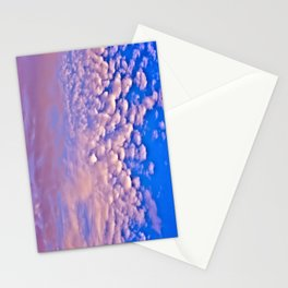 Strawberry Skies Stationery Cards