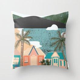 Barbados Exhibition Throw Pillow
