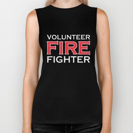 Volunteer Firefighter T-Shirts Biker Tank