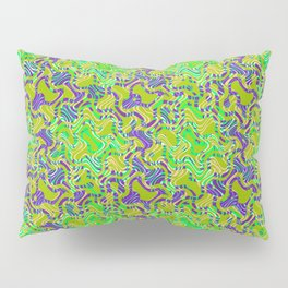 Polyp Green - Coral Reef Series 015 Pillow Sham