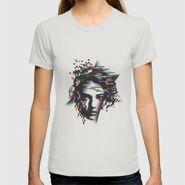 Glitch Woman T-shirt