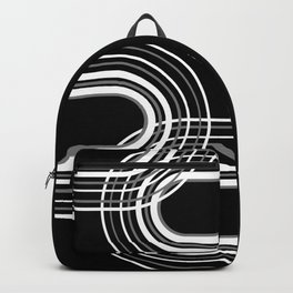 Rainbow Arch Minimal Abstract #3 #decor #art #society6 Backpack