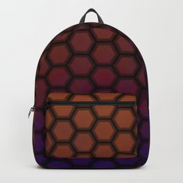 Insta gradient hexagons Backpack