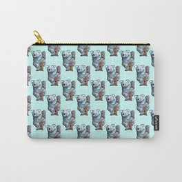 awesome koala pattern Carry-All Pouch