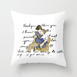 Silver Linings Playbook Throw Pillow