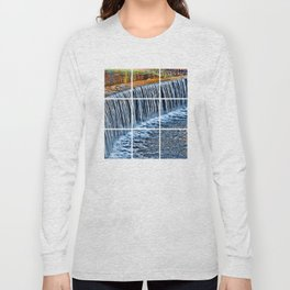 Waterfall near Flatrock Long Sleeve T-shirt