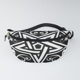 Ace of Spades Pentagram Star, Fun Gift Idea Design Fanny Pack