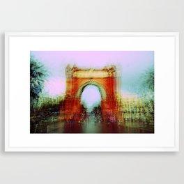 Memories of Spain 7 - Arc de Triomf in Barcelona Framed Art Print