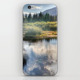 Fall Fly Fishing in Maine iPhone Skin