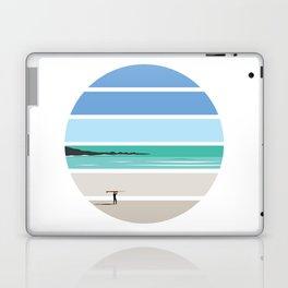 Tiree Longboarder Laptop & iPad Skin