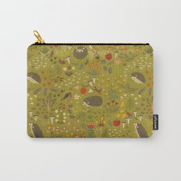 Hedgehog Meadow Carry-All Pouch