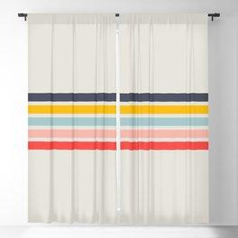 Retro Summer Vibe Blackout Curtain