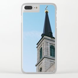 Cathedral in St. Louis Clear iPhone Case