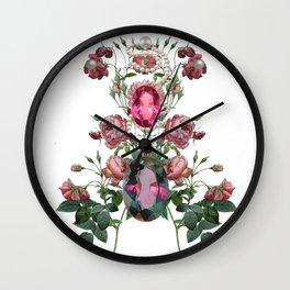 Birth Stone & Flower/JUNE  Wall Clock