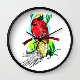 Lesser Bird Wall Clock
