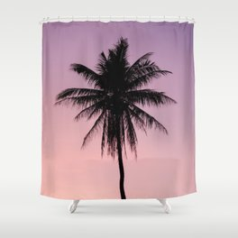 Summer Palms Shower Curtain