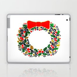 Christmas Wreath Laptop & iPad Skin