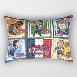 Paris Loves Us Rectangular Pillow