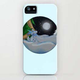 The Festive Moon iPhone Case