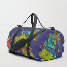 Horse, cool wall art for kids and adults alike Duffle Bag