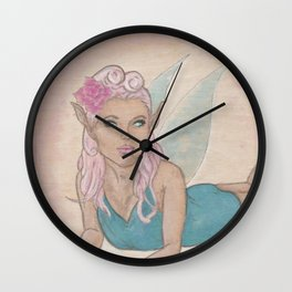 Rockabilly Fae (2) Wall Clock
