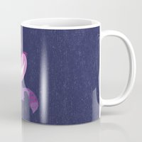 cheshire Mugs featuring Cheshire by Rod Perich