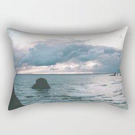Oregon Coast X Rectangular Pillow