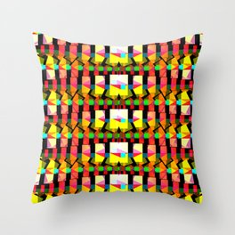 Polyverberations deux, 2260g Throw Pillow