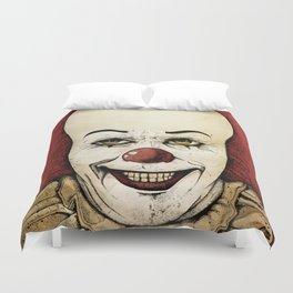 It - Pennywise (Color Version) Duvet Cover