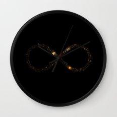 Infinite Skies Wall Clock