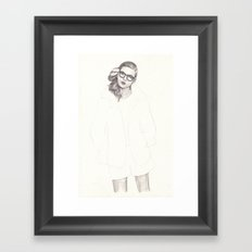 No.5 Fashion Illustration Series Framed Art Print