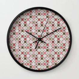 Maison & Jardin - Tiles Wall Clock