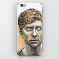 kieren walker iPhone & iPod Skins featuring Kieren Walker by laya rose