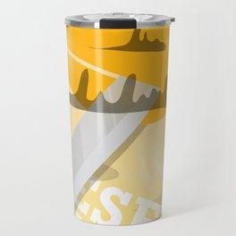 Desert Swordsman Travel Mug