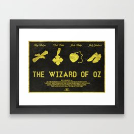 And We're Off - TWoZ Poster Framed Art Print