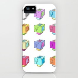 Cubeheds ( available for t-shirts ) iPhone Case