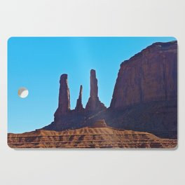 Blue Sky & Rock Cutting Board