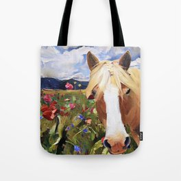 Poppy Haffie Tote Bag