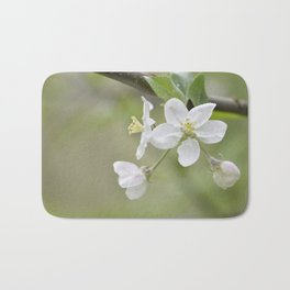 Apple blossom Spring Art print Bath Mat