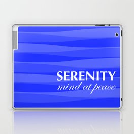 Blue for Serenity Laptop & iPad Skin
