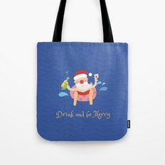 Day 04/25 Advent - Drink & be merry Tote Bag