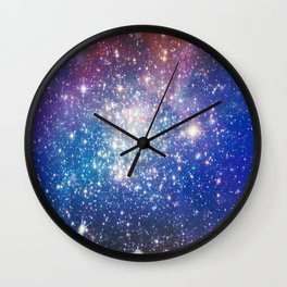 Shining stars Wall Clock