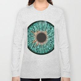 The Blue-Green Iris Long Sleeve T-shirt