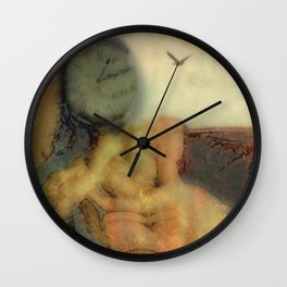 Waiting for the Dr. Wall Clock