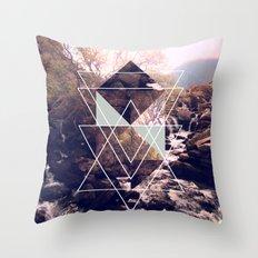 Fragmented Throw Pillow